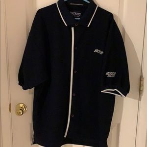Boss 90s polo style shirt XL